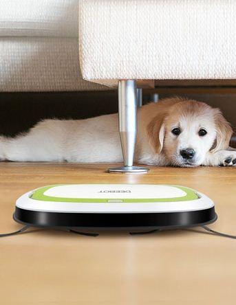 robot aspirador para mascotas