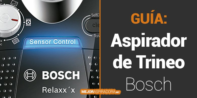 Aspiradoras de Trineo Bosch