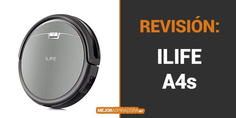 Opiniones y Revisión Robot Aspirador ILIFE A4s