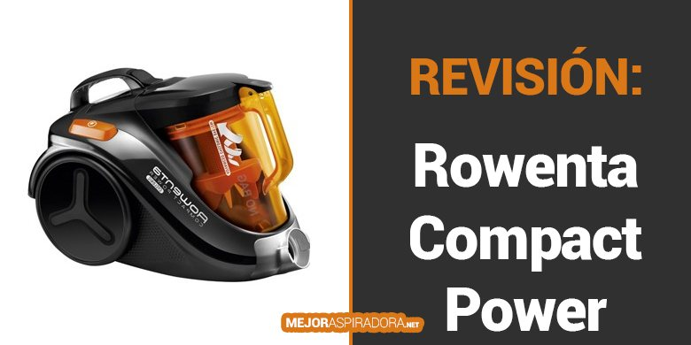 Aspiradora Rowenta Compact Power Cyclonic RO3753