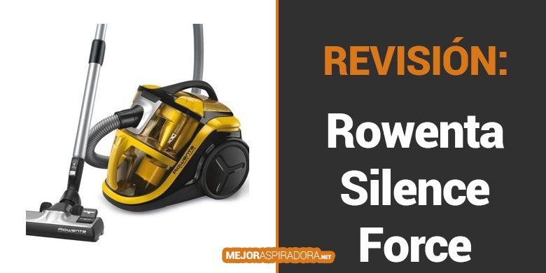 Aspiradora Rowenta Silence Force MultiCyclonic RO8324