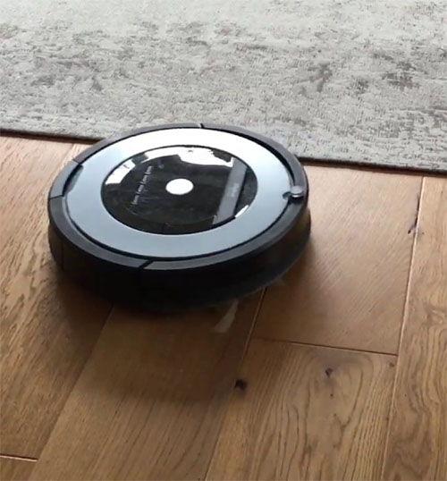 robot aspirador roomba 865