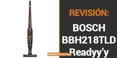 Opiniones Aspirador Escoba Bosch BBH218LTD Readyy