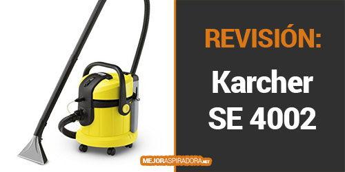 Aspiradora Industrial Karcher SE 4002 Opiniones