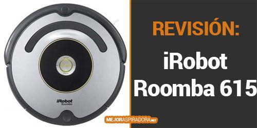 iRobot Roomba 615 Opiniones