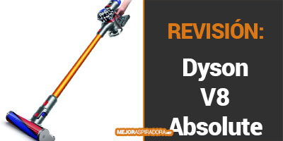 Dyson V8 Absolute Opiniones