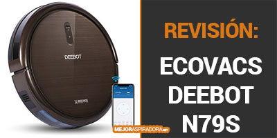 ECOVACS DEEBOT N79S Opiniones